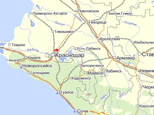 Тимашевская где находится